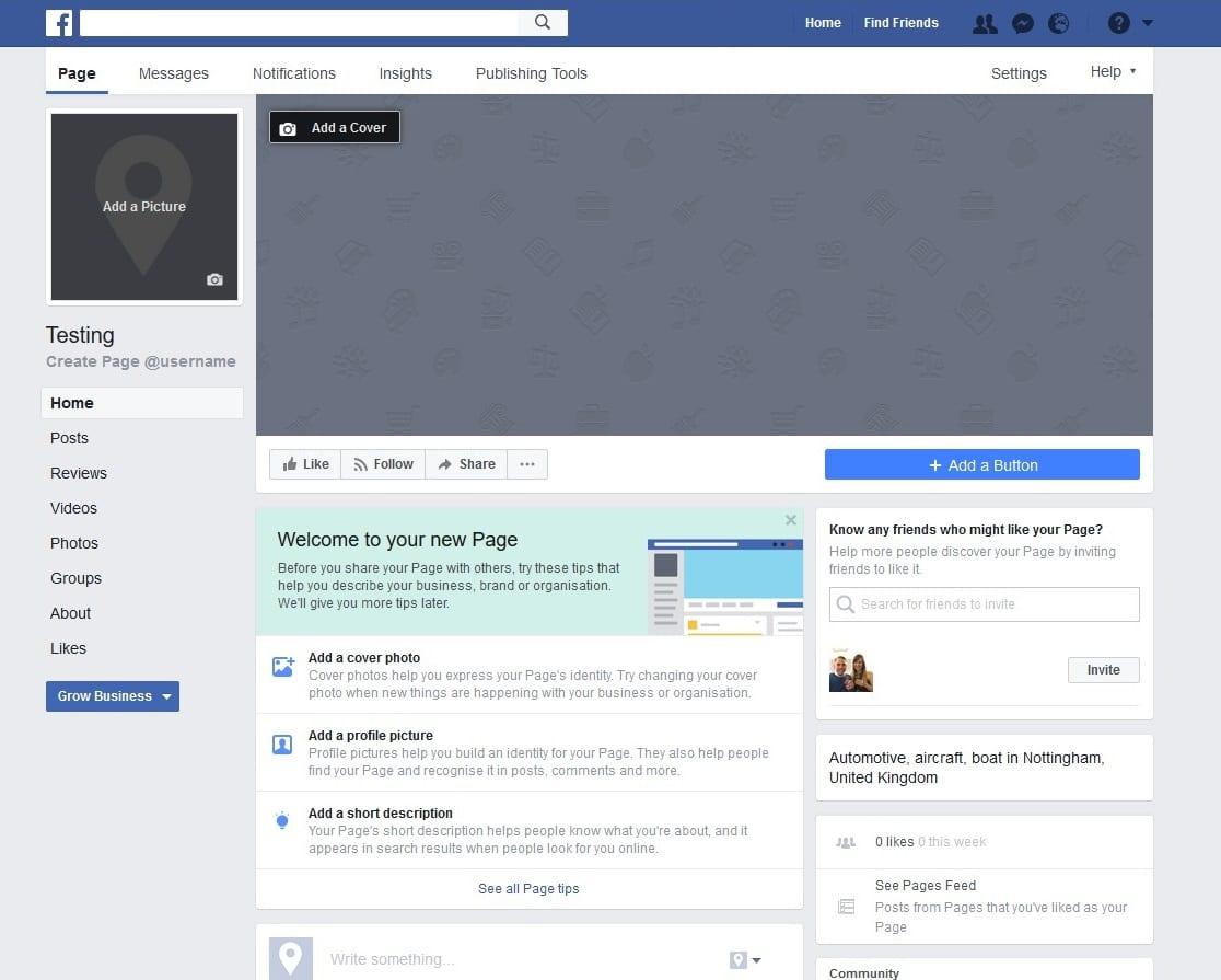 pourquoi et comment cr u00e9er une page facebook